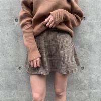 glencheck  skirt