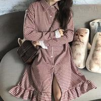 gingham check onepiece