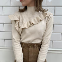 double frill knit