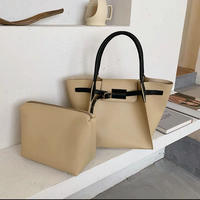 leather belt tote bag