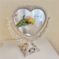 heart stand mirror