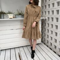 Retro camel dress