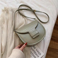 clock round shoulder bag