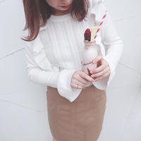 Cafe latte skirt