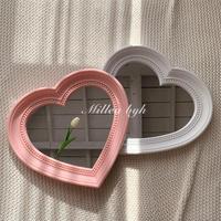 Classy heart mirror