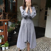 Unbalance elegant dress