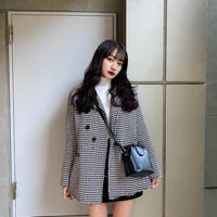 retro long jacket