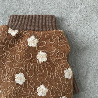 wool flower tops . [ camel ]