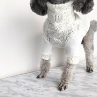 ORIGINAL  loegauge knit .[ white   XS , S , M ]