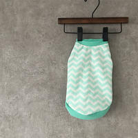 ORIGINAL  herringbone tank top . [ mint ]
