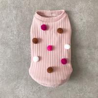 ORIGINAL ponpon knit . [ sweet  L , XL ,  HPS , HPM , HPL  ]