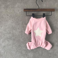 Star rompers  . [  pink ]