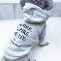 ORIGINAL LOGO hoodie . [ gray XS , S , M  ]