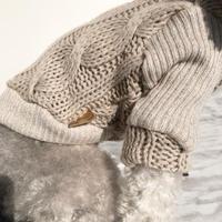 ORIGINAL lowgauge knit . [ beige   XS , S , M ]