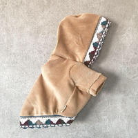 ORIGINAL native corduroy hoodie . [ camel XS , S , M ]