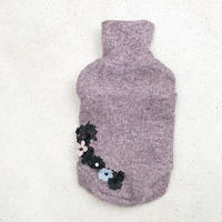 ORIGINAL flower turtle knit . [ pink  L , XL ]