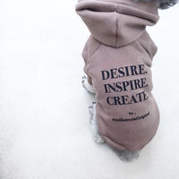 ORIGINAL LOGO hoodie . [ mocha  L , XL , HPS , HPM , HPL ]