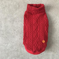 ORIGINAL turtle alan knit .  [ red   XS , S , M ]