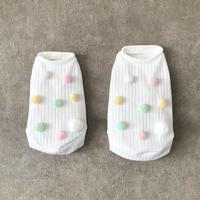 ORIGINAL  ponpon  knit . [ pastel  XS , S , M  ]