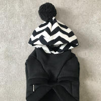 ORIGINAL  herringbone hoodie . [ XS・S・M ]