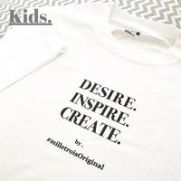 Kids☆ORIGINAL LOGO T- shirt .  [ black ]