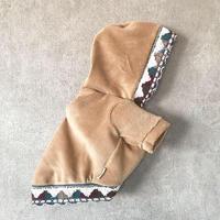 ORIGINAL native corduroy hoodie . [ camel L , XL ]