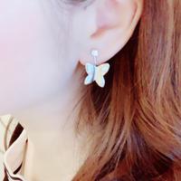 【即納】Silver 925 Papillon