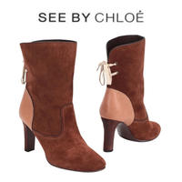 See by Chloé レザー ショートブーツ