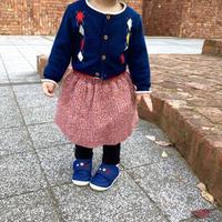 ピンク ツイード スカート