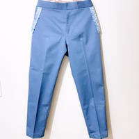 Grosgrain Ribbon Design Pocket Pants
