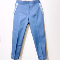 Grosgrain Ribbon Design Pocket Pants