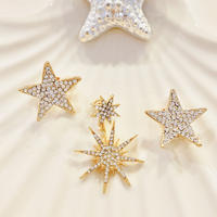 Star Pave Earring or Pierce