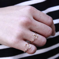 millieto reine lucky number ring #4