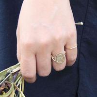 millieto reine souvenir ring / oval