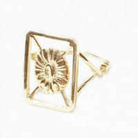 millieto reine souvenir ring / square