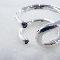 millieto reine secret diamond ring / w SILVER
