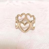 【プチプラ♡】Heart Ring♡ハートリング【アクセサリー】A10