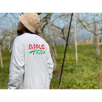 【予約販売】復刻【APPLE TRIP 】Long  Sleeve T-shirt【送料無料】【苦虫ツヨシ】APPLE TRIP 3 packs SET