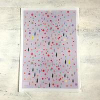 クリアファイル pink dot