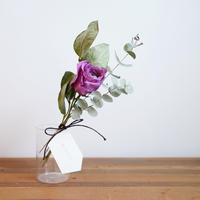 mother's day  ハイクオリティドライフラワーセット / PINK PURPLE ROSE