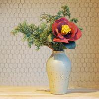 お家でワークショップキット 〜布花の椿を作ろう〜