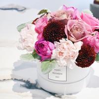 mother's day flower arrangement  /Pink
