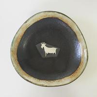 ヒージャー鉢(黒)
