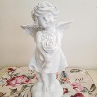 花を持つ花輪の天使  sb-540513