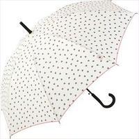 【耐風傘】ポルケハート 白 品番:nt-4201752-s4