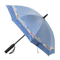 扇風機付き日傘 晴雨兼用 50cm 扇風機日傘【シーサイド】(HHLG2210)