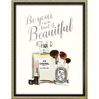 オマージュキャンバスアート「ユアオウンビューティフル」 M 額絵 プチアート 【yp-bc-12032】