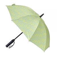 扇風機付き日傘 晴雨兼用 50cm 扇風機日傘【フラワー】
