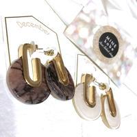 stone metal gold  pierce