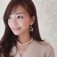 【チタン】STAR pearl pierce